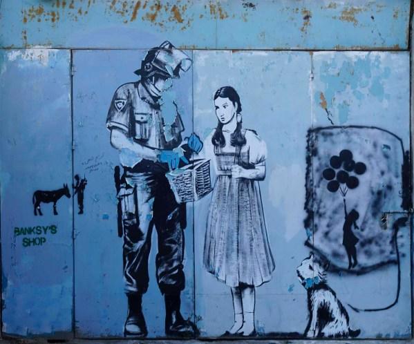 Kopie eines Banksy Werkes