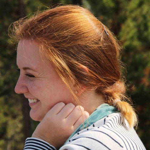 junge Frau aus England