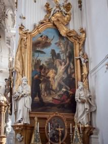 Marienmünster Diessen - Gianbattista Tiepolo - Die Versuchung des Hl. Sebastian