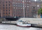 Die OMKA im Harburger Hafen