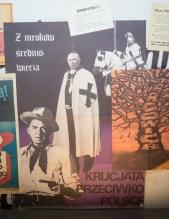 Plakate im Museum