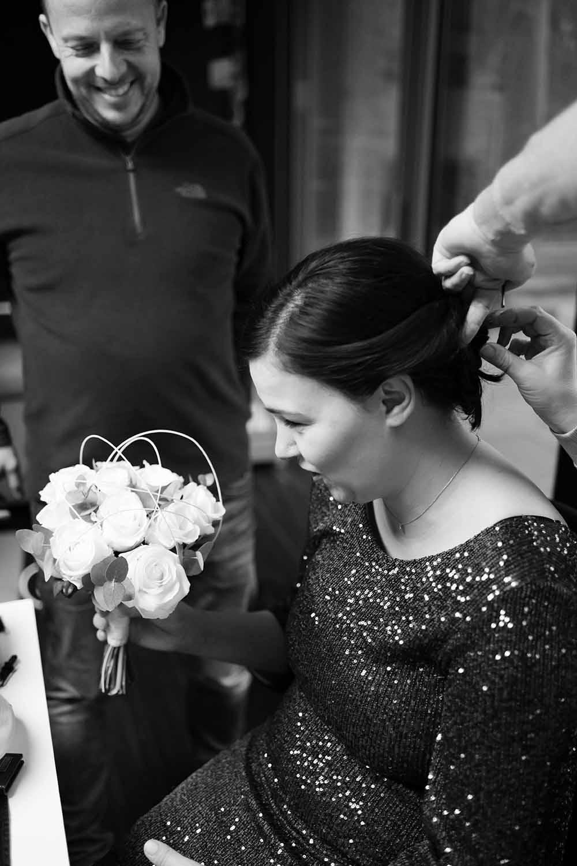 huwelijk kapsel bruid