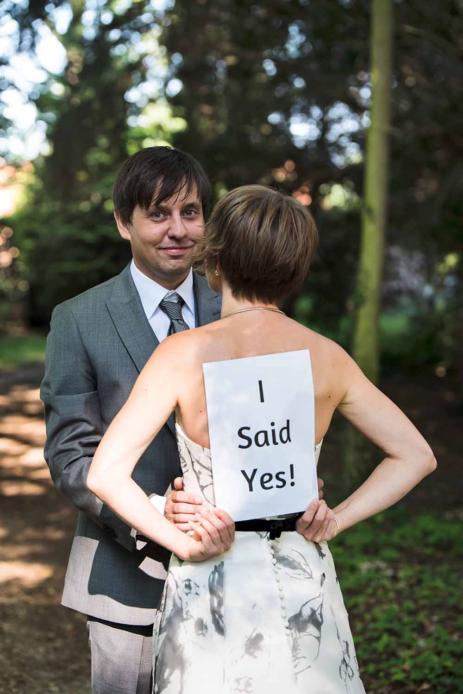 huwelijk i said yes