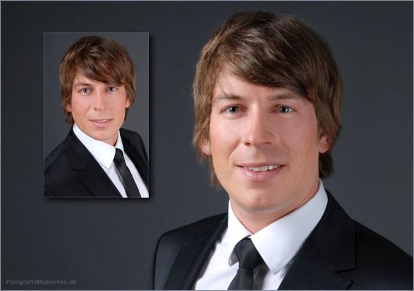 Fotograf für Bewerbungsbilder und Businessportraits in München