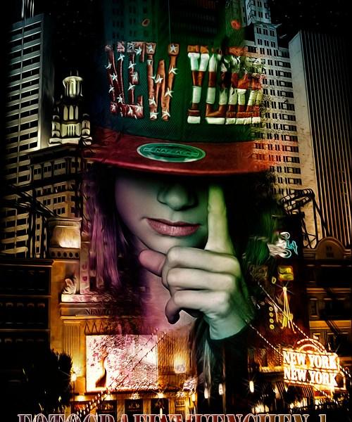 Fotomontage New-York vom Fotografen Eugen Wagner München