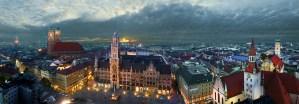 Fotografen für Architektur: Panoramafoto von Muenchen