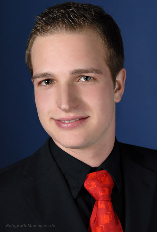 Fotograf für Businessfotos und Bewerbungsbilder Eugen Wagner, Muenchen