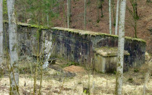 Pulvermühlen Ruinen