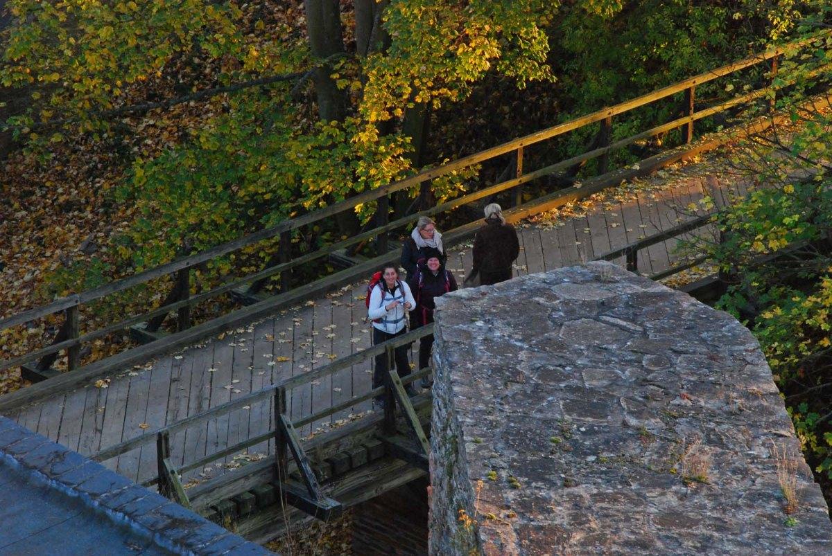 Blick vom Turm Burg Rheinfels