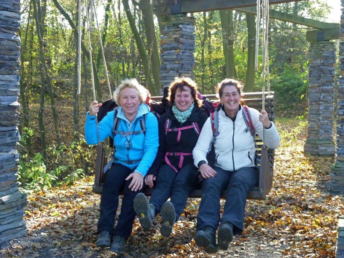 Wanderschnecken auf dem Rheinburgenweg