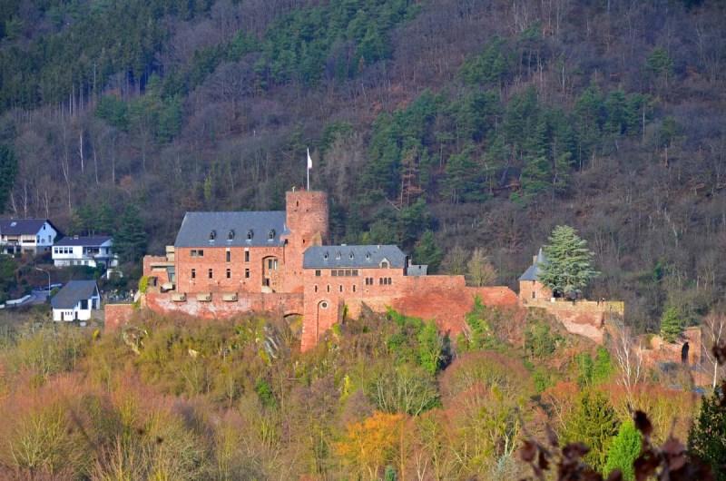Burg in Heimbach