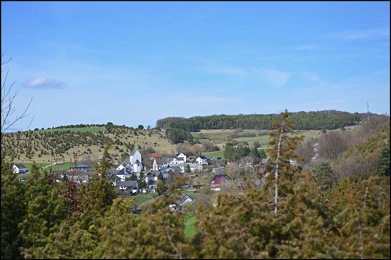 Blick auf Alendorf