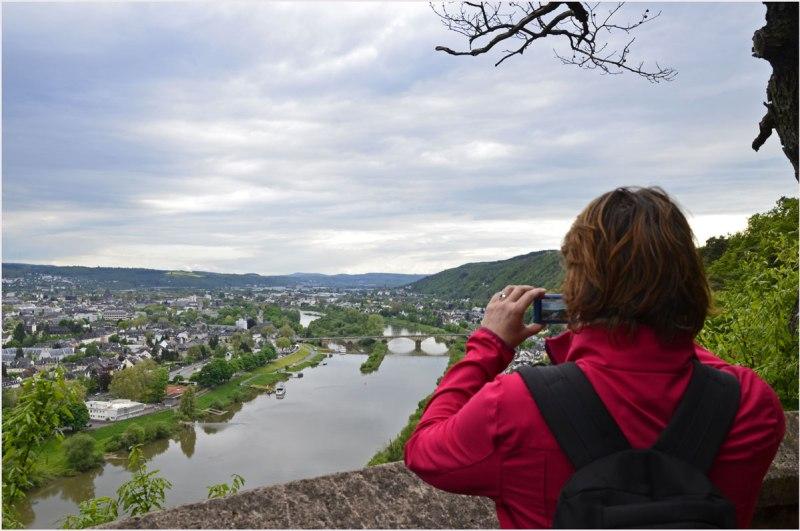 Ein Blick Richtung Trier