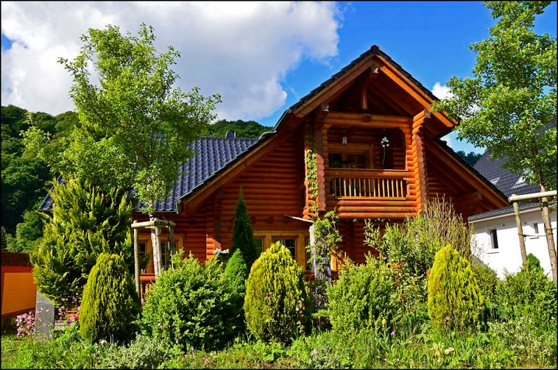 Holzhaus, ganz toll!