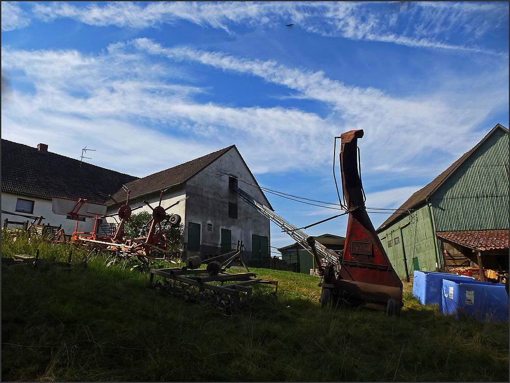 Landwirtschaftlche Eindrücke im Felderbachtal in der Elfringhauser Schweiz
