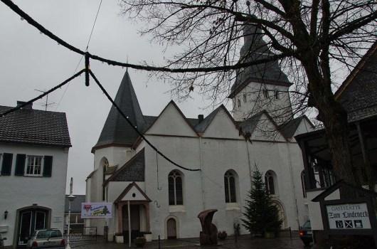 Evangelische Kirche in Nümbrecht. Nümbrecht