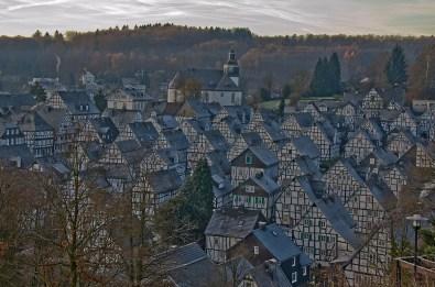 Häuserdächer in Freudenberg