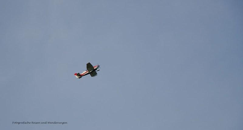 Motorisierte Flieger konnte ich heute auch einige sichten