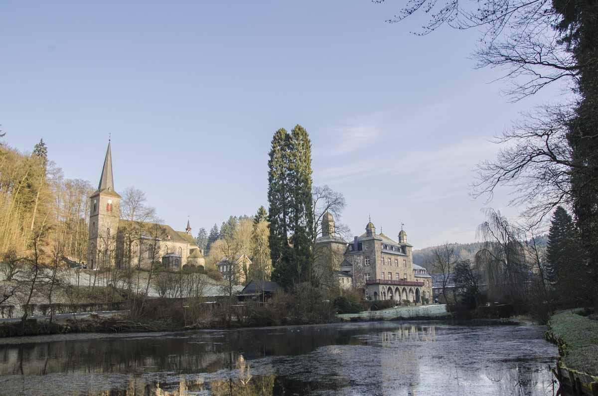 Schloss Gimborn im Winter