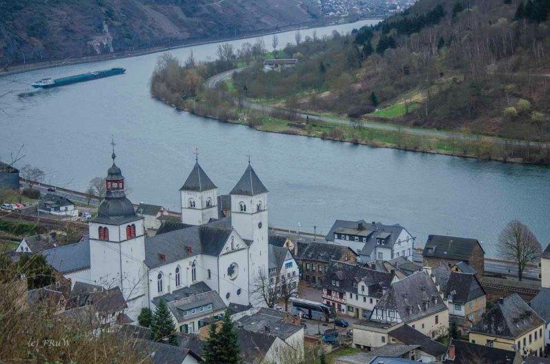 Blick auf die Stiftskirche St. Castor