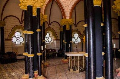 Innenansicht Matthiaskapelle Kobern Gondorf
