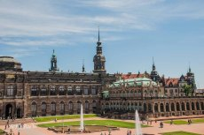 "Zwinger Dresden-""26 Wanderungen - Dresden und Umgebung"