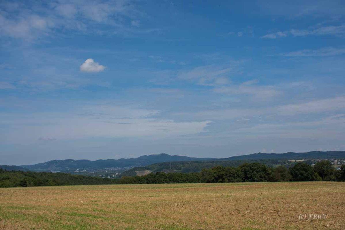 Blick ins Siebengebirge-Appolinarisschleife