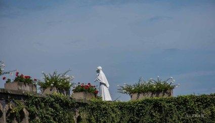 Statue im Park an der Appilinariskirche