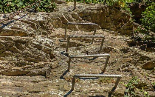 Leichte Klettersteige in Deutschland