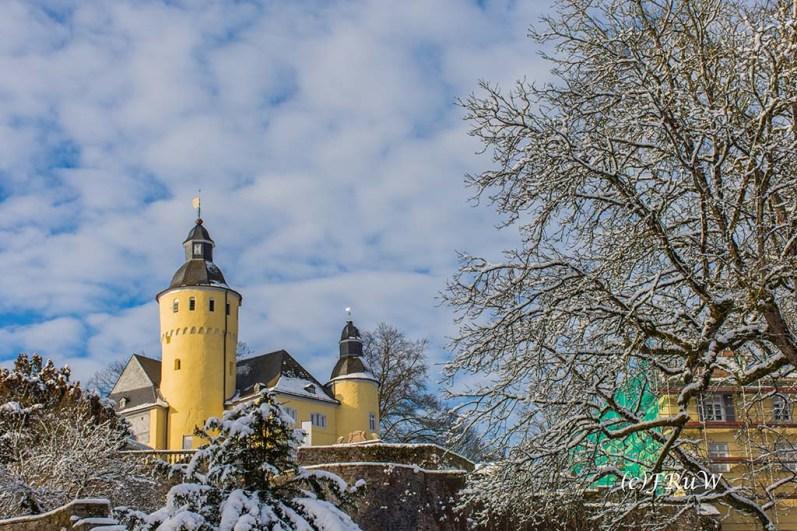 Schloss Homburg - Start des Klangpfad