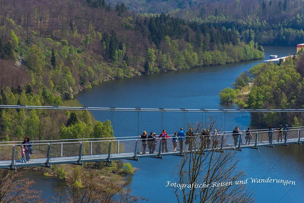 längste Hängeseilbrücke