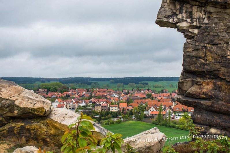 Felsen, Felder, Landschaftsschutz, Naturschutz, Teufelsmauer Weddersleben, Bodetal, Schmale Pfade