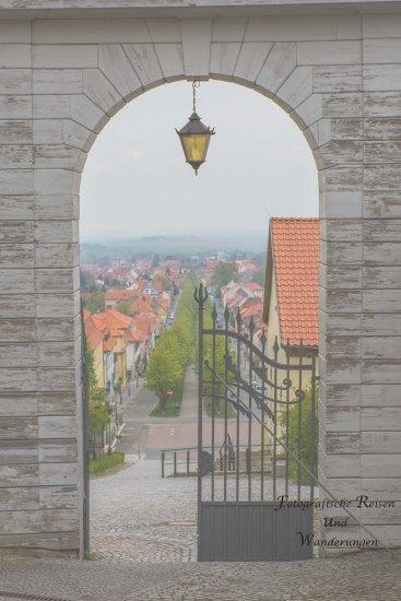 Torbogen Schloss Ballenstedt