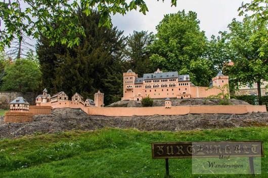 Modell Burg Anhalt