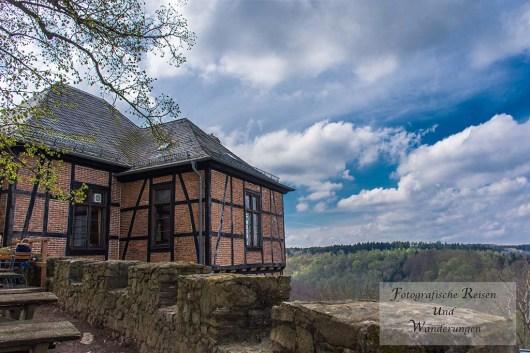 Burg Falkenstein und Gastronomieie