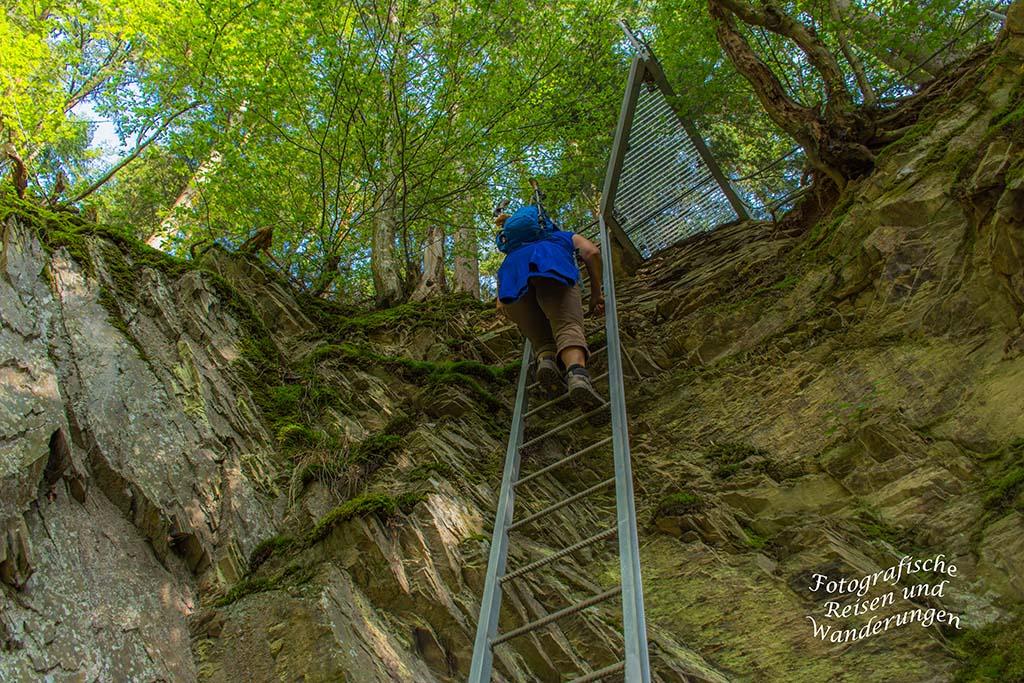 Layensteig Stimmiger Berg (253)  Ein leichter Klettersteig