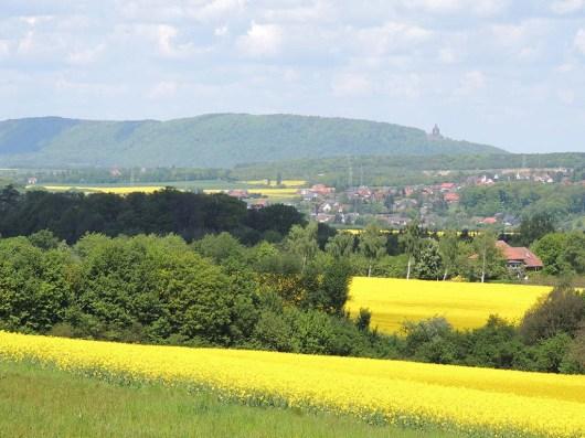 Blick auf die Porta von Varenholz (c) Corinna Will Gemeinde Kalletal