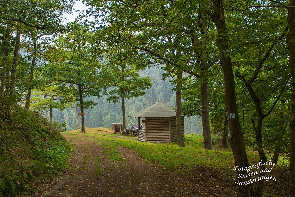 Blick zurück auf die Bleiberghütte