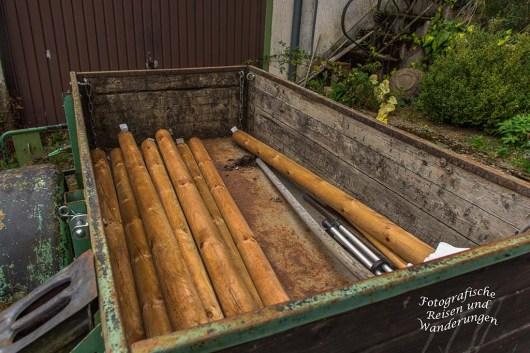 Ganz schön viel Holz