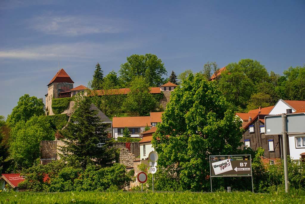 Die Creuzburg - Sehenswürdigekeiten