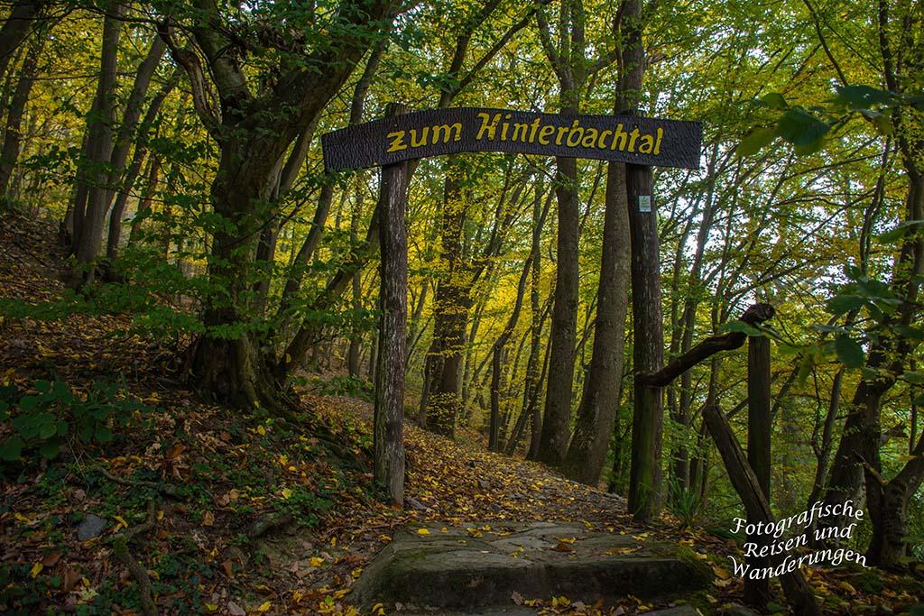 Portal zum Hinterbachtal