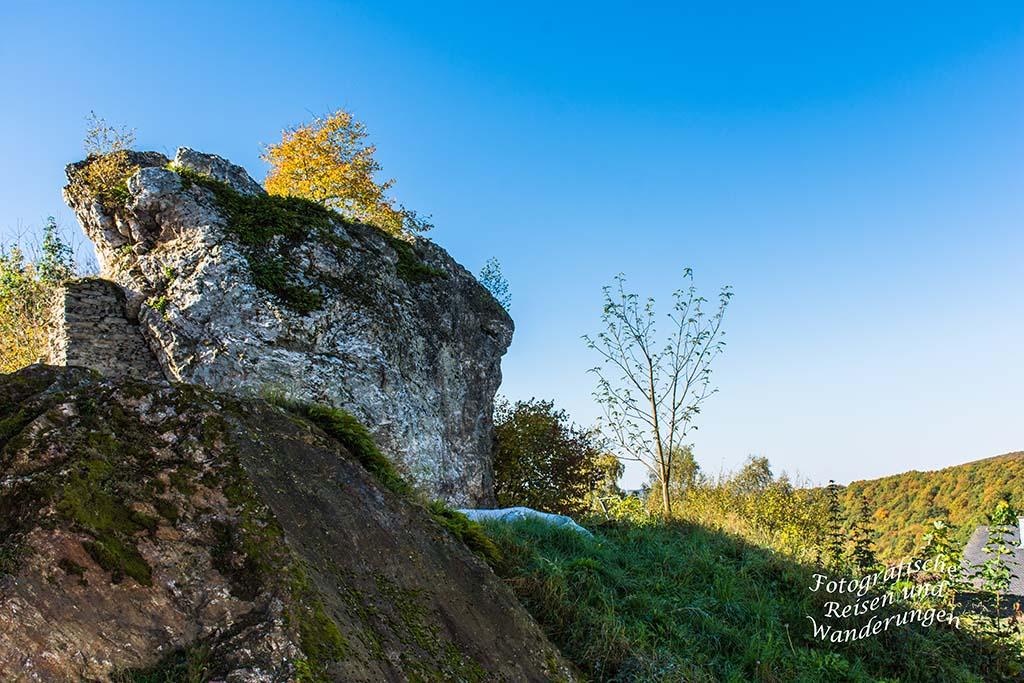 Burg Hunolstein und Ausblicke