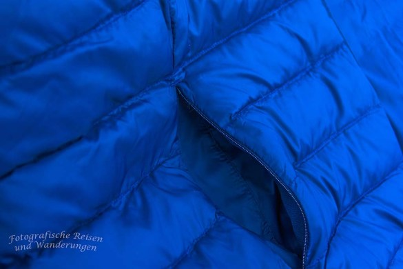 Seitentaschen mit Reißverschluss
