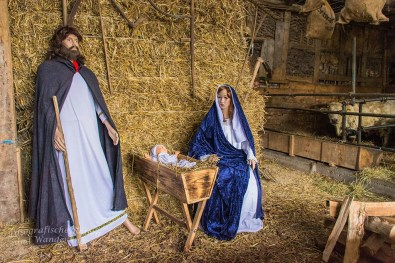 Bauernladen Klein Weihnachtskrippe
