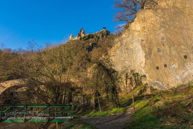 Aussichten und eine Burgruine an der Ahr (43)