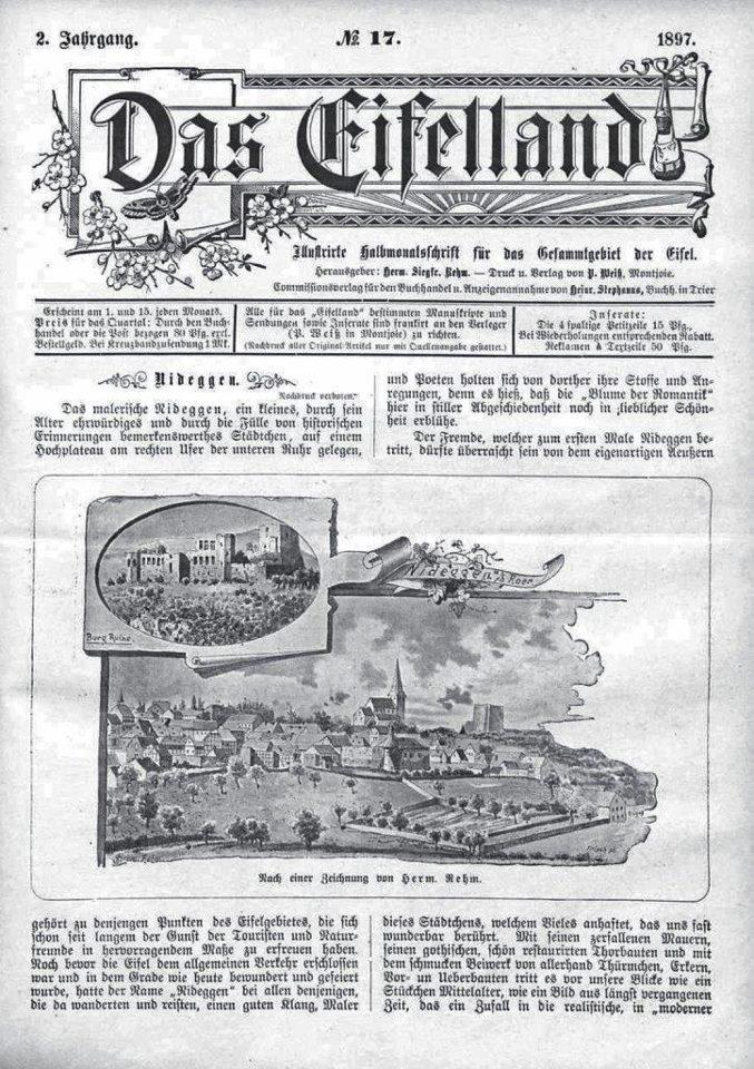 Das Eifelland (1) Eifelverein