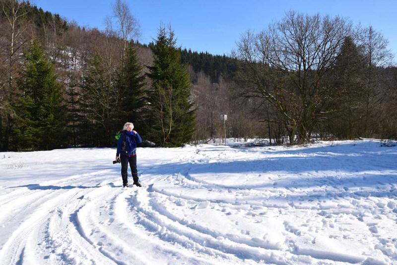 Elke im Schnee7
