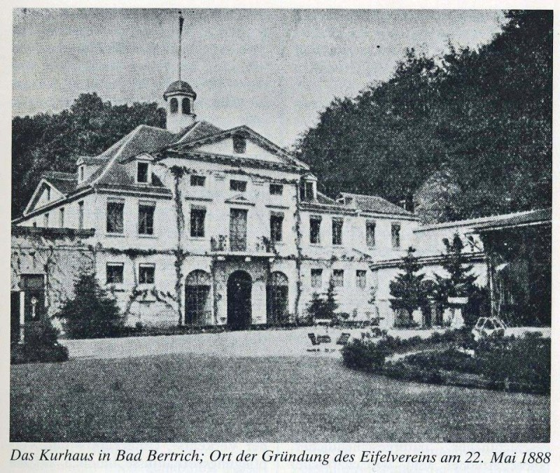 Kurhaus in Bad Bertrich Eifelverein