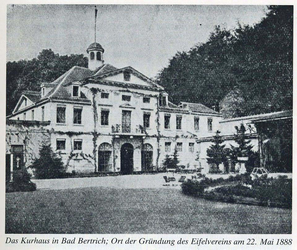 Kurhaus in Bad Bertrich Eifelverein
