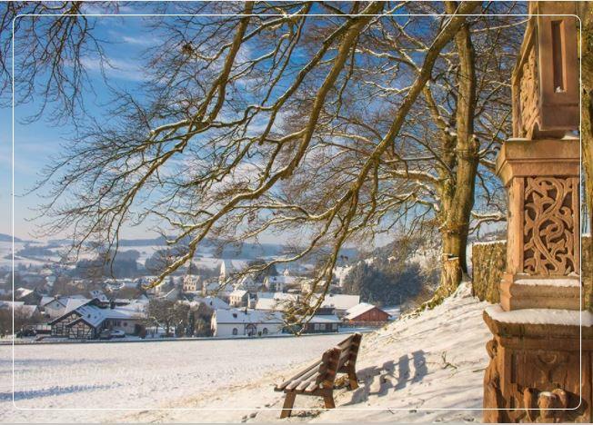 Postkartenmotiv für die Weihnachtszeit - Postkarte